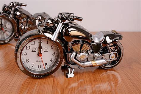 Where Can I Buy A Harley Davidson Gift Card - harley davidson style motorbike alarm clock grey novelty gift alarm clock bike in
