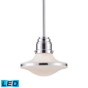 Led Mini Pendant Lights Elk Lighting 17054 1 Led Retrospectives Led Mini Pendant