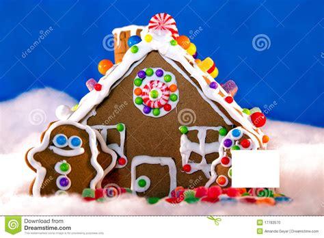 Wonderful House Design Program Free #2: Gingerbread-house-blank-sign-17783570.jpg