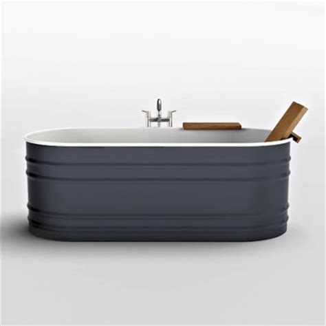 Trough Bathtub by Unemployed And Blogging Steel Tub That Looks Like Cattle