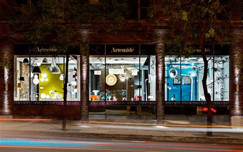 home design store chicago artemide lighting design a new showroom in chicago