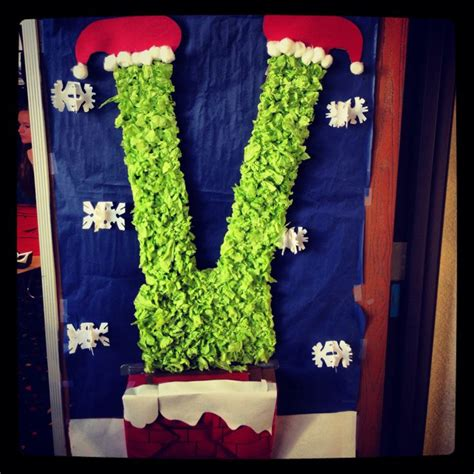 how the grinch stole door decorating ideas my door at work the grinch going the