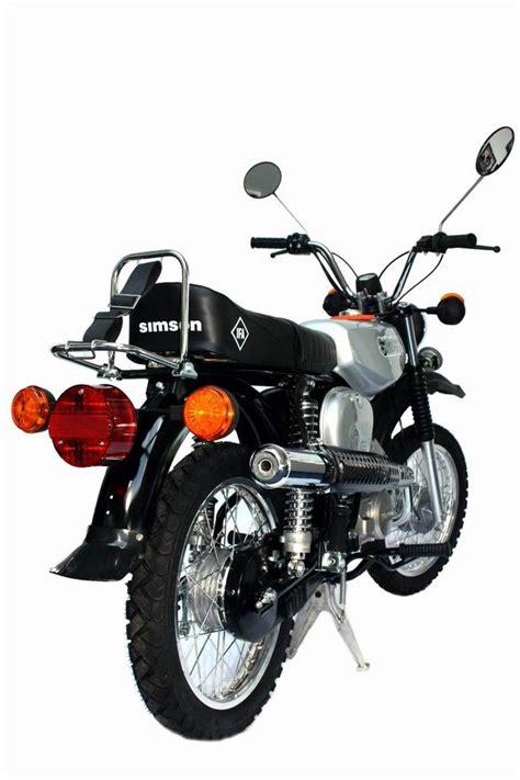 50ccm Motorrad Modelle by Neufahrzeug Simson Mokick S51 1 Enduro 50ccm 183 Zweirad