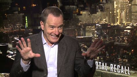 bryan cranston total recall total recall bryan cranston quot cohaagen quot junket interview
