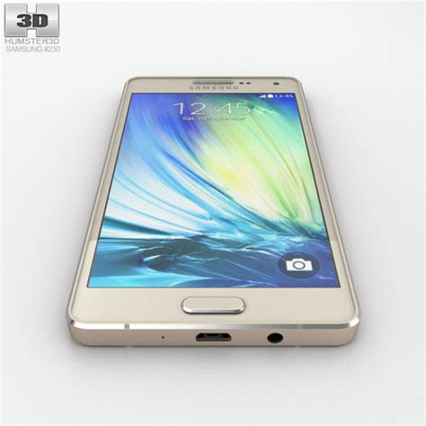 Samsung A3 Warna Gold Samsung Galaxy A3 Chagne Gold 3d Model Hum3d