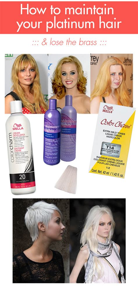3 ways to maintain your platinum hair lose the