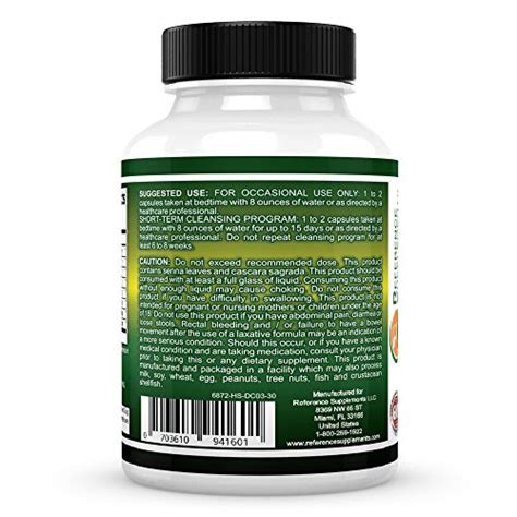 Nature Detox Colon Cleanse Pills by Buy Best Colon Cleanse For Weight Loss Colon