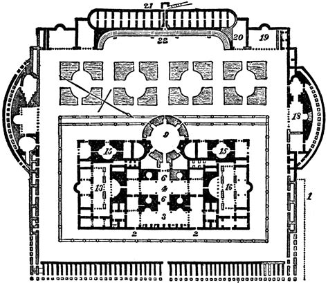 baths of caracalla floor plan baths of caracalla clipart etc