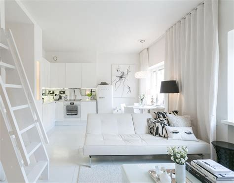 compact apartment   loft bed  walk  closet