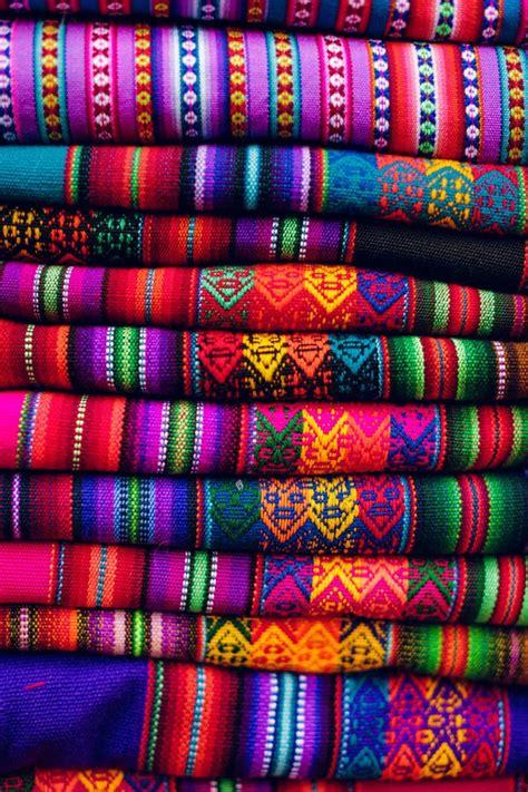 peru color bright peruvian textiles textile design textiles and