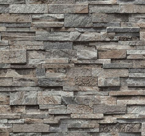 Wall 3d Brick Br1317 Blue brick effect wallpaper vinyl 3d slate split