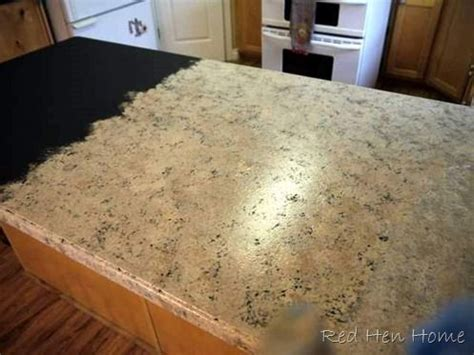 Countertop Coating by Diy Countertops Change The Color By Painting Them