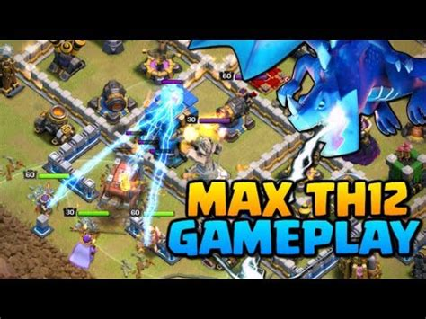 clash of clans boat gameplay max builder hall gameplay level 5 bh5 clash of clan