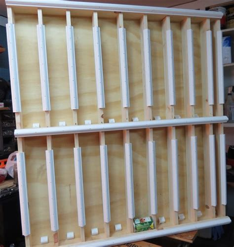 Canned Food Storage Rack by How To Make Rotating Canned Food Storage Racks How To