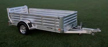 aluminum utility trailer bi fold ramp hillsboro