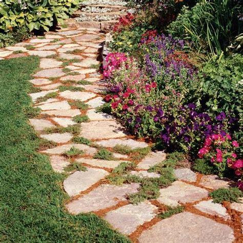 stone pathways images  pinterest stone paths