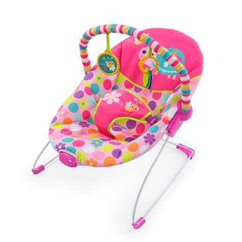 Bright Starts Meadow Blossoms Bouncer bright starts vibrating bouncer pretty pink safari buy in south africa takealot