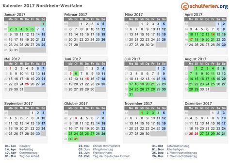 Ostern Kalender 2016 Kalender 2017 Ferien Nordrhein Westfalen Feiertage