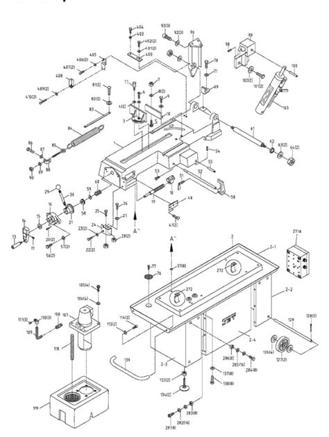 jet band saw parts diagram jet hbs 814gh band saw parts