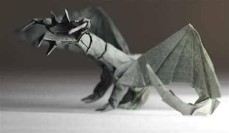 Origami Darkness - 27 spectacular western style origami dragons