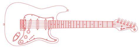 fender stratocaster template fender stratocaster vector by nansu on deviantart