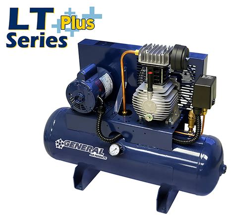 tank mounted lubricated air compressors lt series general air products