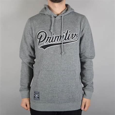 Hoodie Primitive Apparel Hitam primitive apparel built stronger pullover hoodie grey