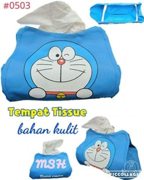 tempat tissue dan acc doraemon tempat tissue doraemon moshi