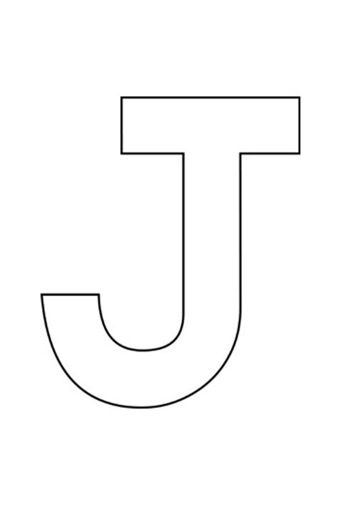 letter j template letter j template best free home design idea