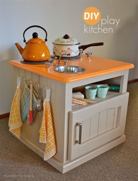 pretend kitchen furniture 149 best diy play furniture images on knitted animals chairs and crochet animals