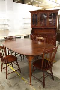 Table L Styles L Hitchcock Dining Table And 4 Style Chairs
