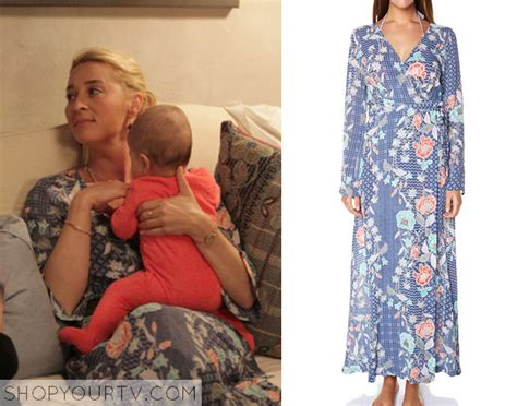 Billy Batik Blouse Offspring Fashion Clothes Style And Wardrobe Worn On Tv