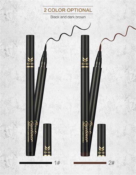 Termurah 2 Eyeliner Pen Spidol Waterproof makeup black thin eyeliner waterproof lasting liquid eye liner pen ebay