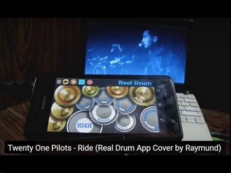 real drum app tutorial twenty one pilots ride real drum app cover by raymund
