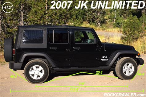 Jeep Wrangler Unlimited Length Jk Clearance Seems Deceptive Jeep Wrangler Forum