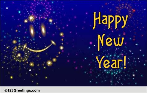 123 new year greeting ecards new year and smiles free friends ecards greeting