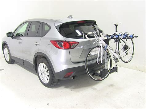 Bike Rack For Mazda Cx 5 by Mazda Cx 5 Thule Apex Swing 4 Bike Rack For 2 Quot Hitches