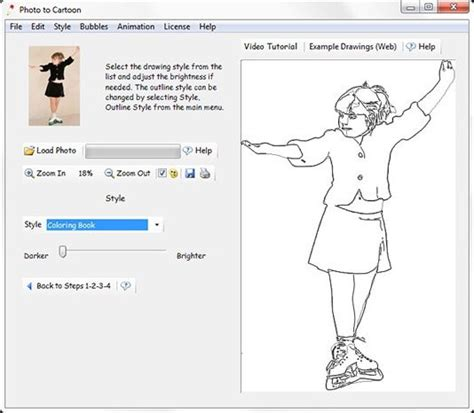 make a coloring book page with photoshop how to make coloring books