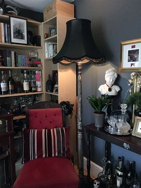 victorian gothic dining room makeover  witch