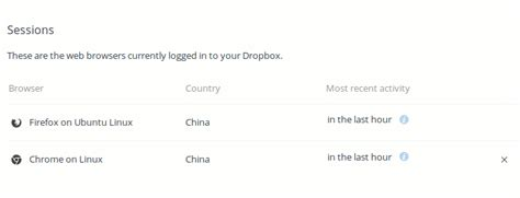 dropbox logout how to log out from gmail facebook and other web services