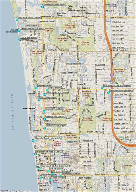 Naples Florida Records Naples Fl Map My