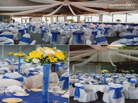 this is how light blue and yellow wedding will look like