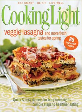 cooking light magazine recipes file cooking light magazine cover png