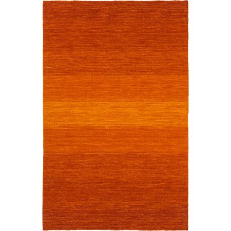 Artistic Weavers Payson Bright Orange 8 Ft X 11 Ft Bright Orange Area Rug