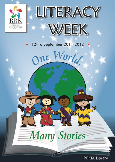 themes for reading week rbkialiteracyweek2011 2012 literacy week poster