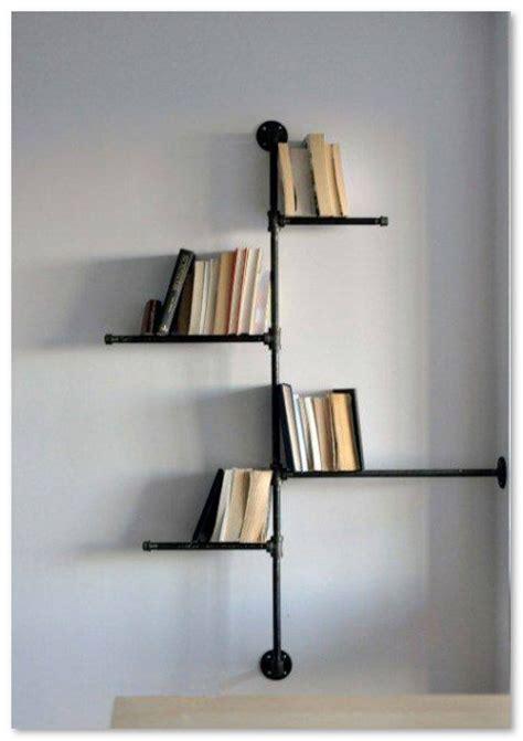 Rak Buku Besi Unik desain unik rak buku dinding desain rumah unik