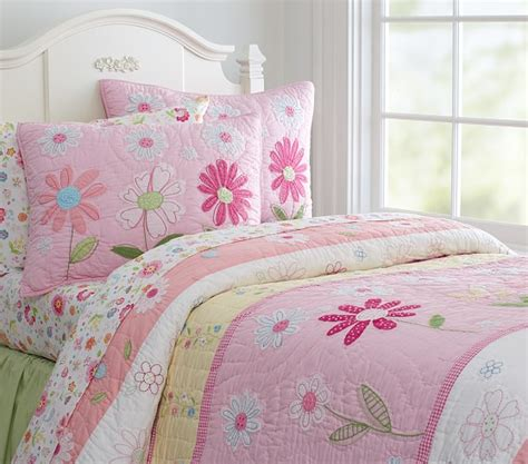 Quilted Bedding by Garden Quilt Pottery Barn