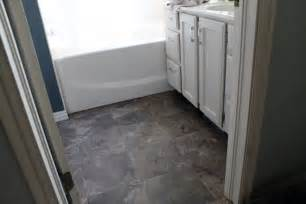 Vinyl Flooring For Bathrooms Ideas by Fabulous Vinyl Flooring Bathroom Ideas Vinyl Flooring