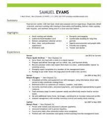 server description pdf fast food server food and