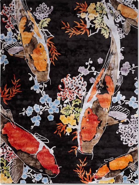 koi rug don t be coy tuft by rug the ruggist